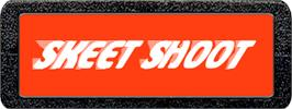 Top of cartridge artwork for Skeet Shoot on the Atari 2600.