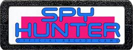 Top of cartridge artwork for Spy Hunter on the Atari 2600.