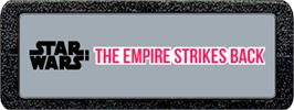 Top of cartridge artwork for Star Wars: The Empire Strikes Back on the Atari 2600.