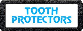 Top of cartridge artwork for Tooth Protectors on the Atari 2600.