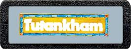 Top of cartridge artwork for Tutankham on the Atari 2600.