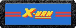 Top of cartridge artwork for X-Man on the Atari 2600.