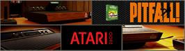 Arcade Cabinet Marquee for Pitfall!.