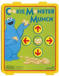 Overlay for Cookie Monster Munch on the Atari 2600.