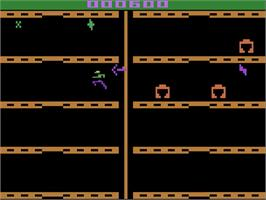 In game image of Adventures of Tron on the Atari 2600.