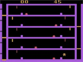 In game image of Airlock on the Atari 2600.