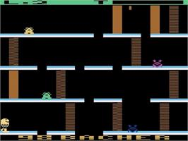 In game image of Alfred Challenge on the Atari 2600.