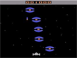 In game image of Allia Quest on the Atari 2600.