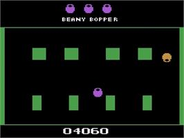 In game image of Beany Bopper on the Atari 2600.