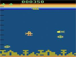 In game image of Bermuda Triangle on the Atari 2600.