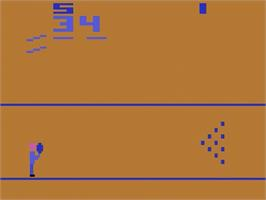 In game image of Bowling on the Atari 2600.