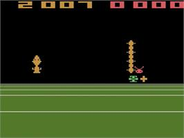 In game image of Bugs on the Atari 2600.