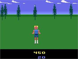 In game image of California Games on the Atari 2600.