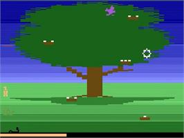 In game image of Crack'ed on the Atari 2600.
