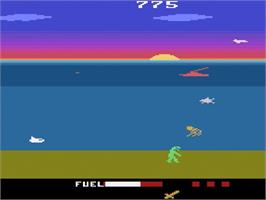 In game image of Crash Dive on the Atari 2600.