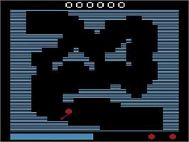 In game image of Crazy Balloon on the Atari 2600.
