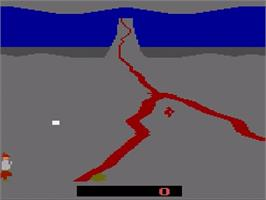 In game image of Crossbow on the Atari 2600.