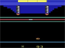 In game image of Death Trap on the Atari 2600.