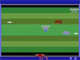 In game image of Demons to Diamonds on the Atari 2600.