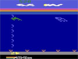 In game image of Dolphin on the Atari 2600.