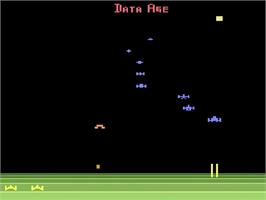 In game image of Encounter at L5 on the Atari 2600.