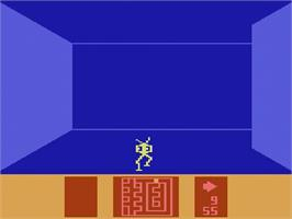 In game image of Escape from the Mindmaster on the Atari 2600.