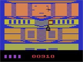 In game image of Espial on the Atari 2600.