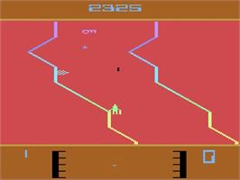 In game image of Fantastic Voyage on the Atari 2600.