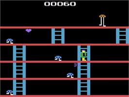 In game image of Fast Eddie on the Atari 2600.