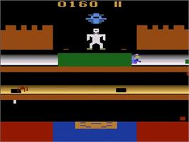 In game image of Frankenstein's Monster on the Atari 2600.