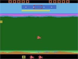 In game image of Funky Fish on the Atari 2600.