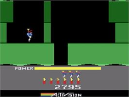 In game image of H.E.R.O. on the Atari 2600.