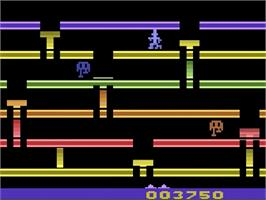 In game image of Infiltrate on the Atari 2600.