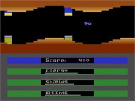 In game image of Laser Gates on the Atari 2600.