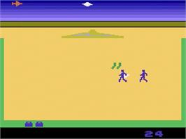 In game image of Lost Luggage on the Atari 2600.