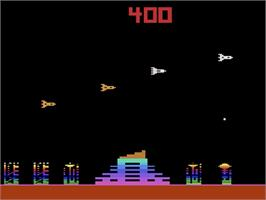 In game image of M.A.D. on the Atari 2600.