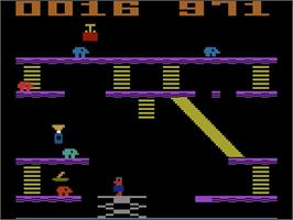 In game image of Miner 2049er Volume II on the Atari 2600.