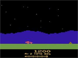 In game image of Out of Control on the Atari 2600.