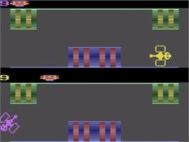 In game image of Party Mix on the Atari 2600.