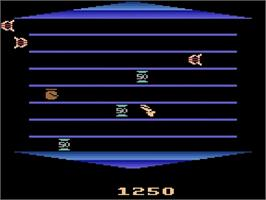 In game image of Phoenix on the Atari 2600.