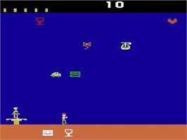 In game image of Pick Up on the Atari 2600.