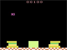 In game image of Picnic on the Atari 2600.