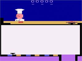 In game image of Piece o' Cake on the Atari 2600.