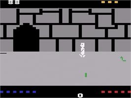 In game image of Quest for Quintana Roo on the Atari 2600.