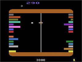 In game image of Ram It on the Atari 2600.