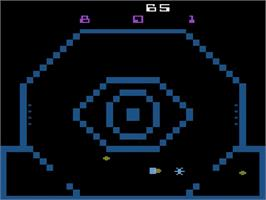 In game image of Reactor on the Atari 2600.