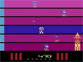 In game image of Saboteur on the Atari 2600.