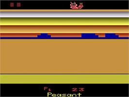 In game image of Save the Whales on the Atari 2600.