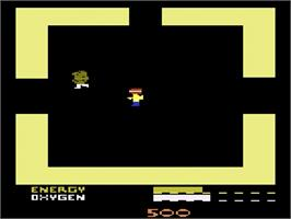 In game image of Secret Quest on the Atari 2600.