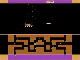 In game image of Skate Boardin' on the Atari 2600.